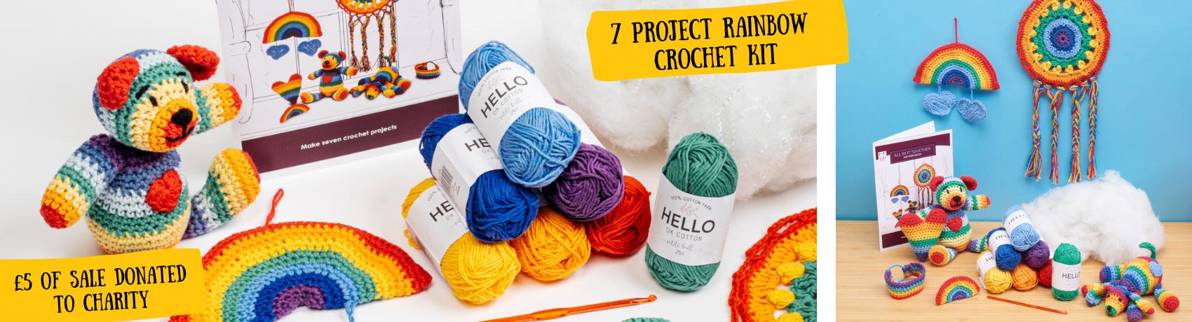 Rainbow Crochet Kit