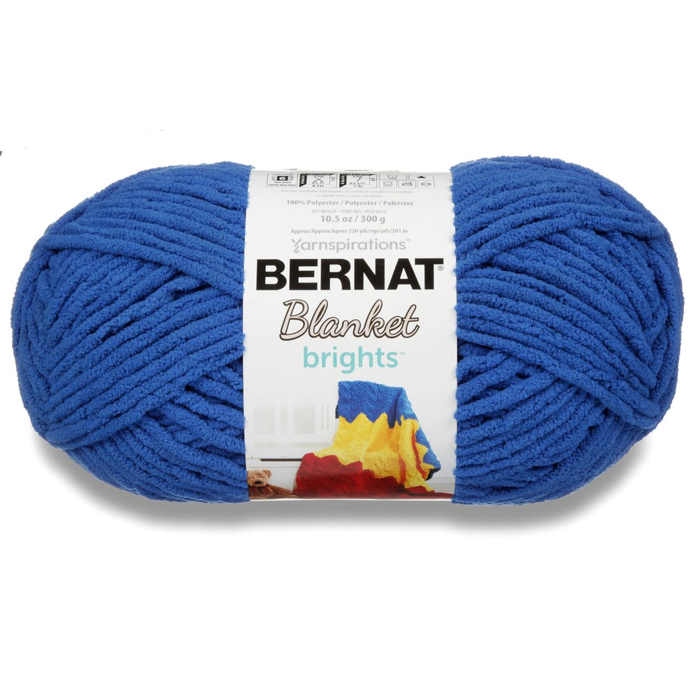 Bernat Blanket Brights 300g Royal Blue