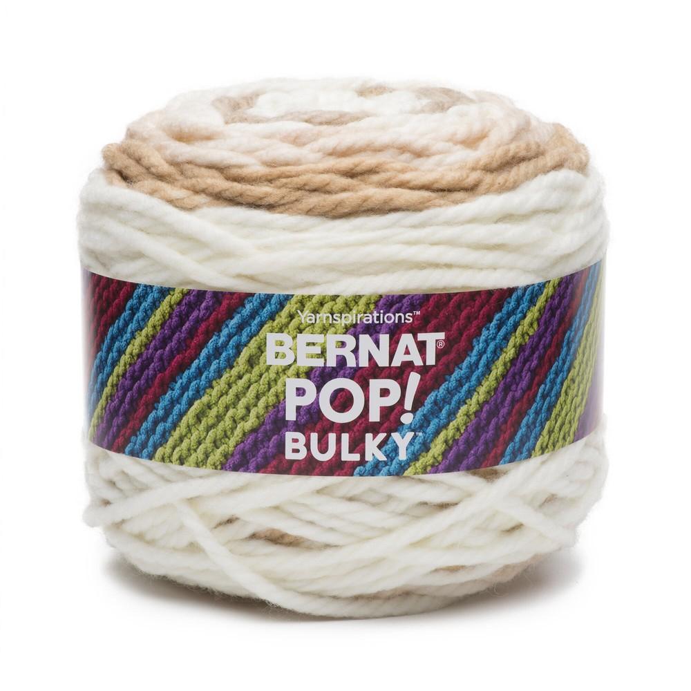 Bernat Pop! Bulky Yarn 280g Cafe Au Lait