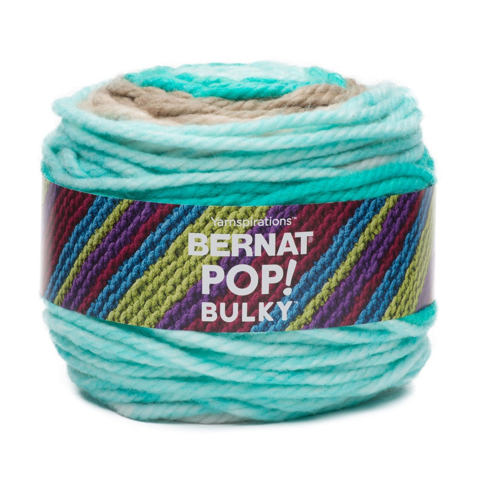 Bernat Pop! Bulky Yarn 280g Carefree Seashore