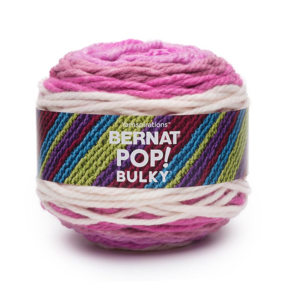 Bernat Pop! Bulky Yarn 280g Fabulous Fuchsia