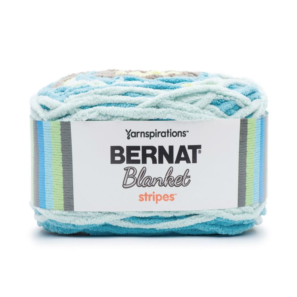 Bernat Blanket Stripes Yarn 300g By The Sea