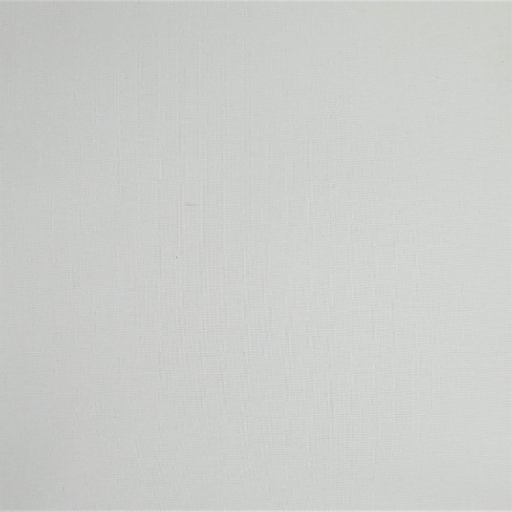 Plain Dyed Homespun 100% Cotton White X 1 Meter