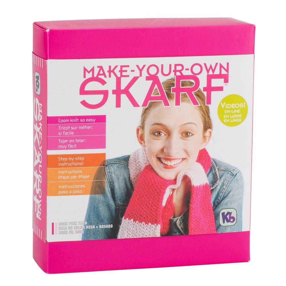 KB Looms Scarf Kit Rose