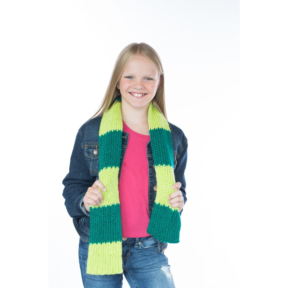 KB Looms Scarf Kit Green