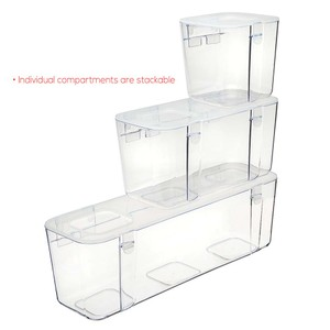 Stackable Caddy Organiser Containers Small, Medium, Large