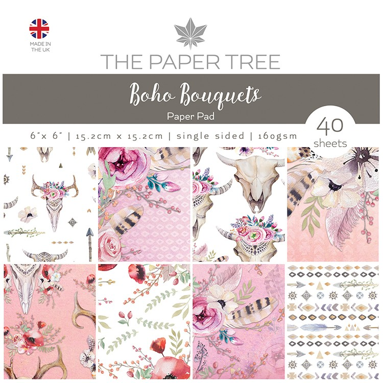 Boho Bouquets Complete Cardmaking Kit