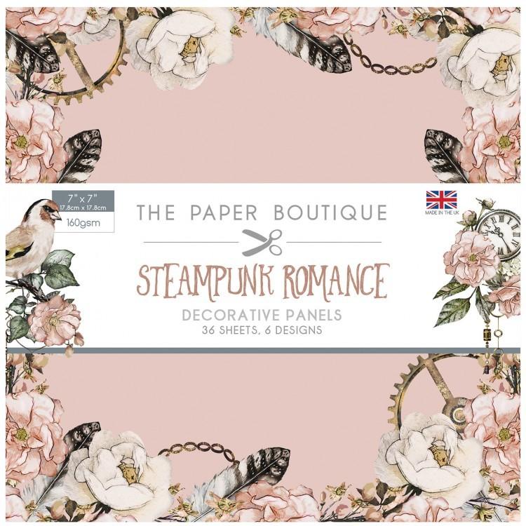 Steampunk Romance Papercraft Collection
