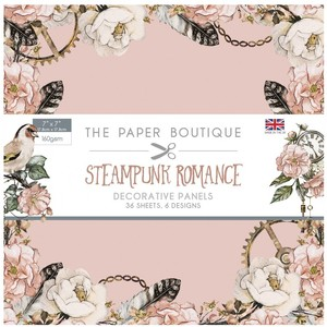 Steampunk Romance Papercraft Collection