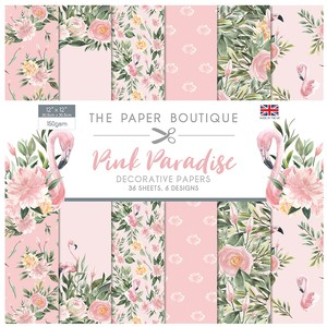 Pink Paradise Papercraft Collection