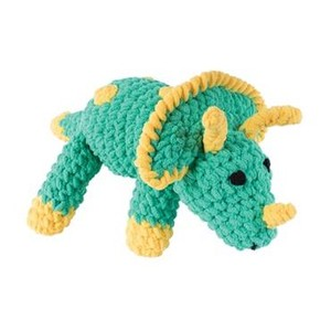 Knitty Critters Toby Triceratops Crochet Kit
