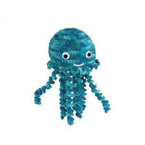 Knitty Critters Squish Jellyfish Crochet Kit