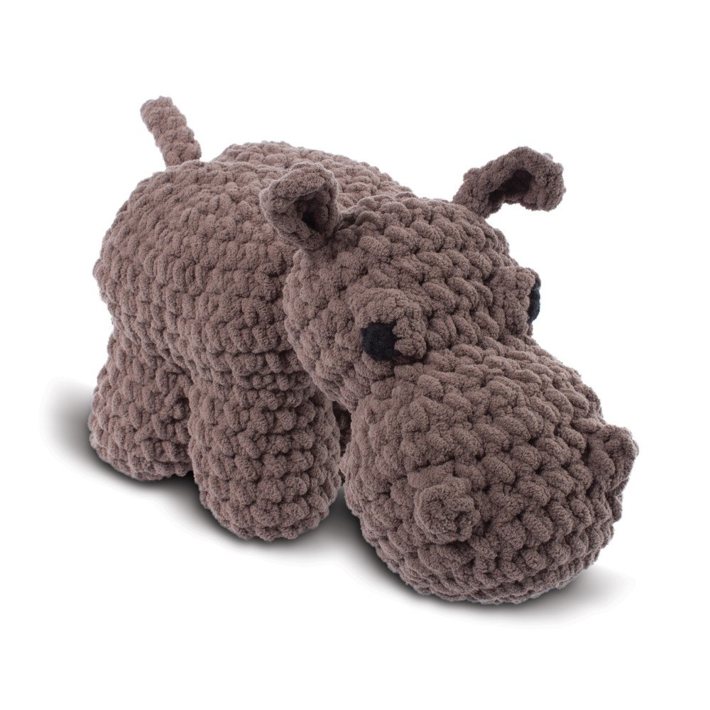 Knitty Critters Pippapotamus Hippo Crochet Kit