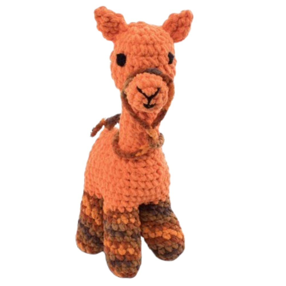 Knitty Critters Abby Alpaca Crochet Kit