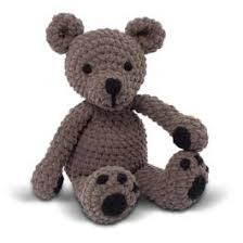 Knitty Critters Tumble Ted Crochet Kit