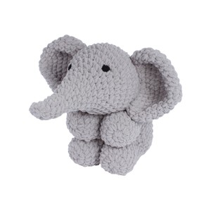 Knitty Critters Ollie Elephant Crochet Kit