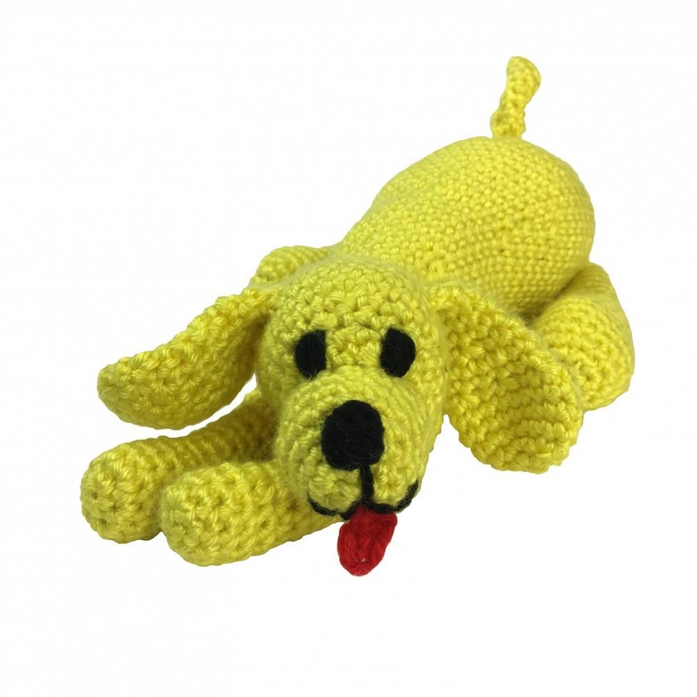Knitty Critters Playful Puppy Crochet Kit