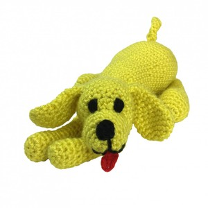 Knitty Critters Playful Puppy Crochet Kit