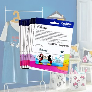 Brother ScanNCut Disney Activation Cards Complete Collection