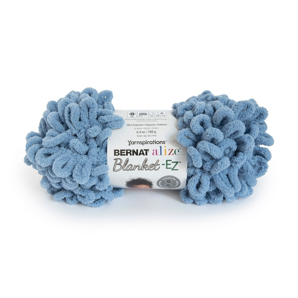 Bernat Blanket Alize EZ 180g Country Blue
