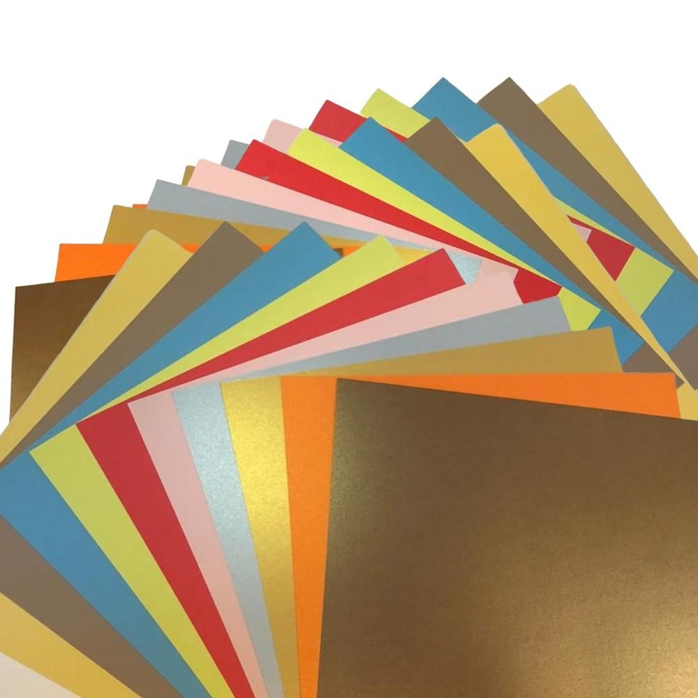 Makers 12X12 Premium Cardstock 30 Sheets 260 - 350 GSM