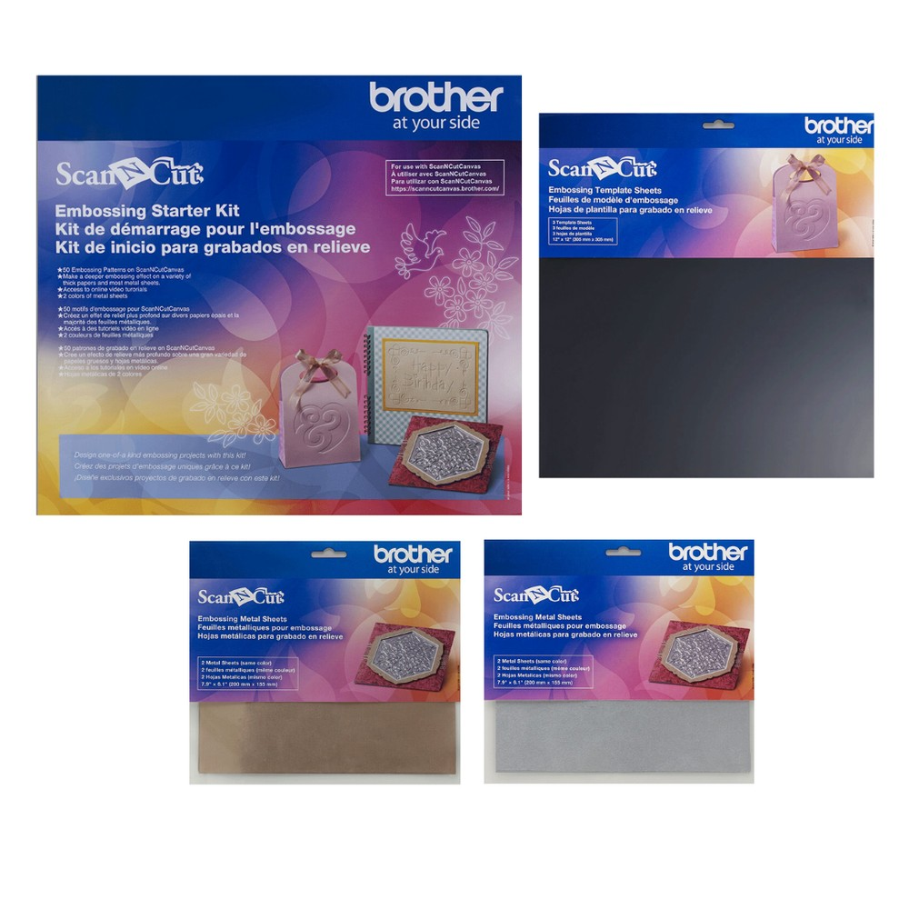 Brother ScanNCut Emboss It Collection
