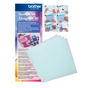 ScanNCut 4 X High Tack Adhesive Fabric Support Sheets 12 X 12
