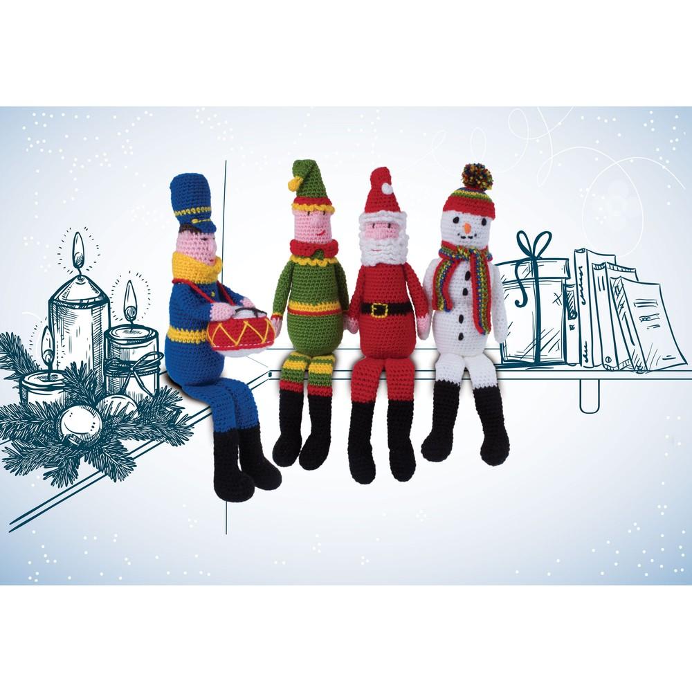 Knitty Critters Make Christmas Festive Friends