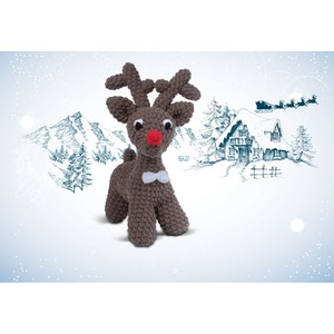 Knitty Critters Make Christmas Roody Reindeer