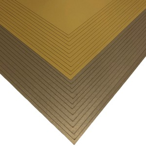 Makers 12x12 Premium Pearlescent Cardstock Christmas Collection - Gold and Pale Gold - 24 Sheets
