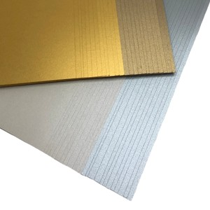 Makers 12x12 Premium Pearlescent Cardstock Christmas Collection - Gold and Silver - 48 Sheets