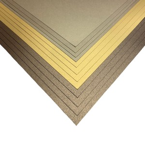 12x12 Premium Pearlescent Cardstock Christmas Collection - Brown, Gold and Pale Gold - 12 Sheets