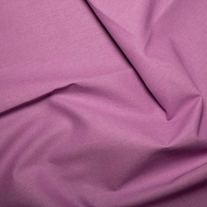 Plain Dyed Poly Cotton Lilac X 1 Meter