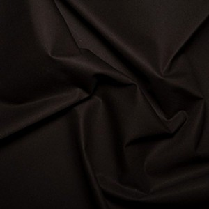 Plain Dyed Homespun 100% Cotton Black X 1 Meter