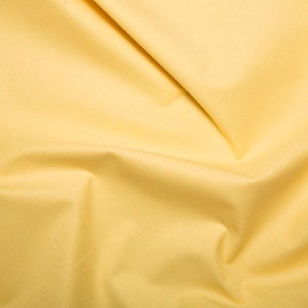 Plain Dyed Homespun 100% Cotton Lemon X 1 Meter