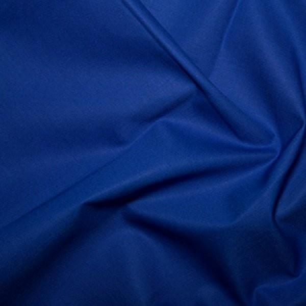 Plain Dyed Homespun 100% Cotton Royal X 1 Meter