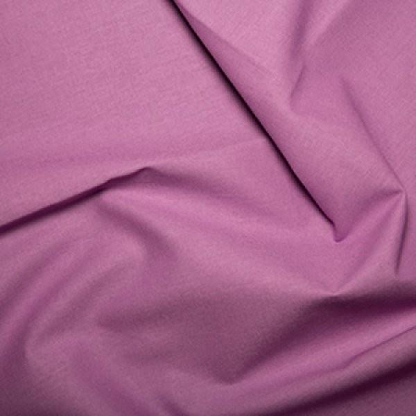 Plain Dyed Homespun 100% Cotton Lilac X 1 Meter