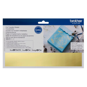 Brother ScanNCut Foil Transfer Sheets Gold