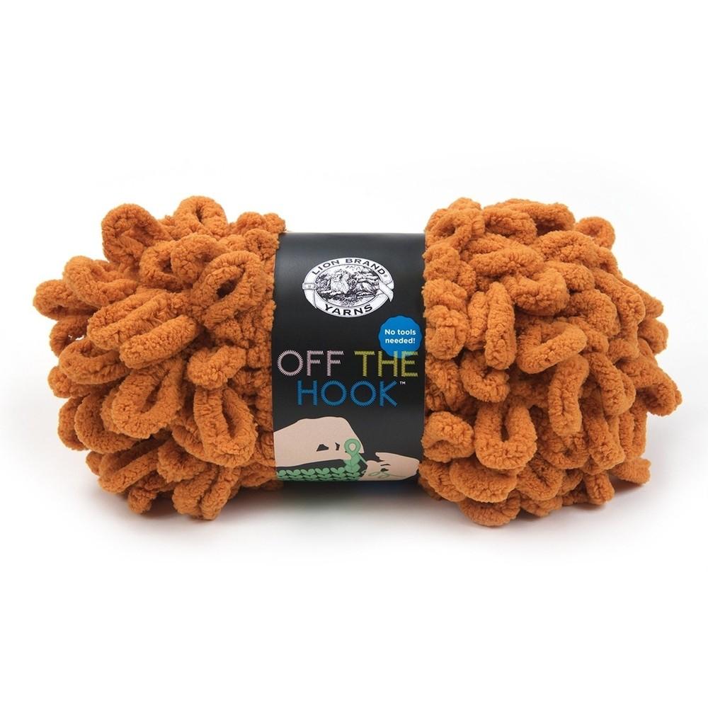 Lion Brand Off The Hook Spiced Pumpkin