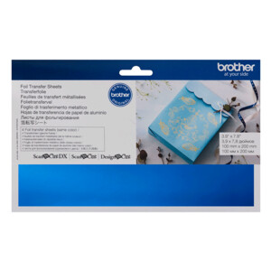 Brother ScanNCut Foil Transfer Sheets Blue