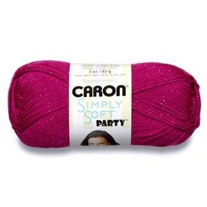 Caron Simply Soft Party Fuchsia Sparkle