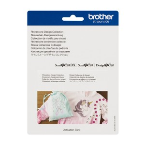 Brother ScanNCut Rhinestone Design Collection x 25 Designs