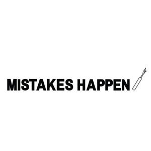Makers Mistakes Happen Unpicker Hoodie Grey Black