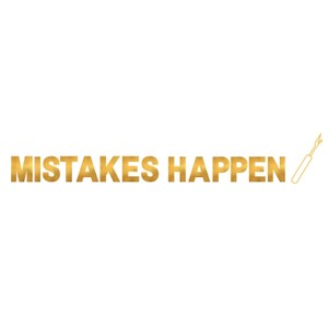Makers Mistakes Happen Unpicker Crew Sweatshirt Black Gold