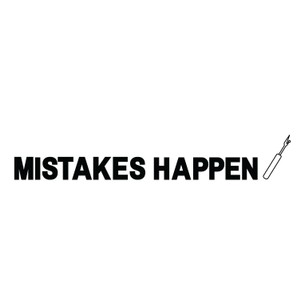 Makers Mistakes Happen Unpicker T-Shirt Grey