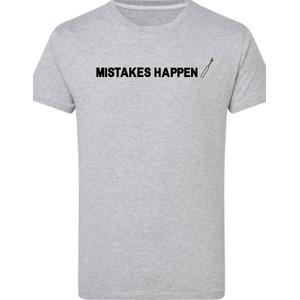 Makers Mistakes Happen Unpicker T-Shirt Grey