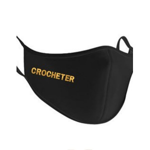 Makers Crocheter Face Mask