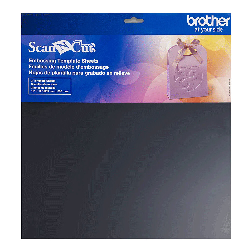Brother ScanNCut 3 X Embossing Template Sheets  12 X 12
