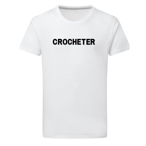 Makers Crocheter T-Shirt White