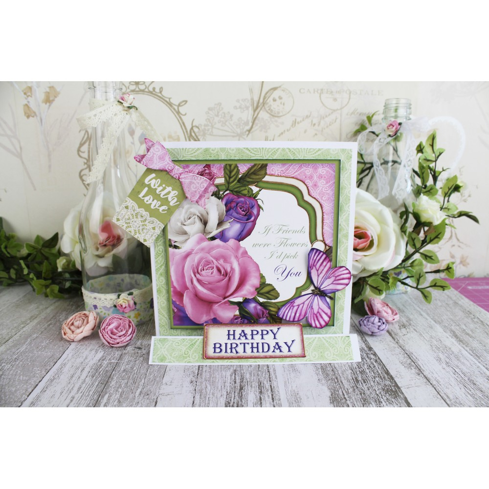Dreaming of Roses Inspirational Craft Box